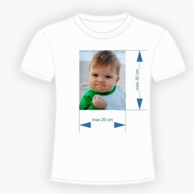 Egyedi fényképes póló