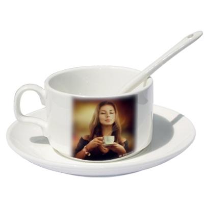 Fényképes kávéscsésze - Fehér
