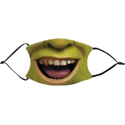 Vicces szájmaszk - Shrek